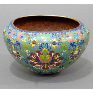 Cloisonné Enameled Jar