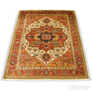Contemporary Serapi Carpet