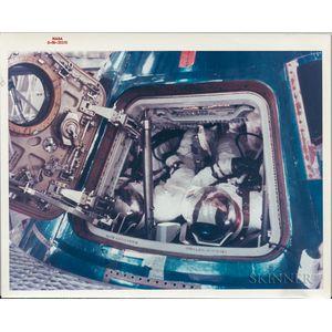 Apollo 11, Four Crew Photographs. Apollo 11, Four Crew Photographs.