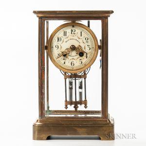 Crystal Regulator Shelf Clock