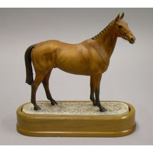 Royal Worcester Bone China Doris Lindner Model of Arkle