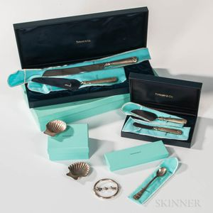 Group of Tiffany & Co. Sterling Silver Tableware