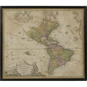 North America, Three Maps.