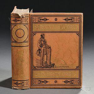 Verne, Jules (1828-1905) Around the World in Eighty Days.