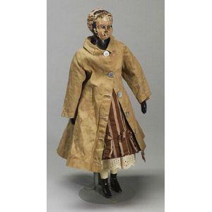 Black Joel Ellis Jointed Wooden Doll