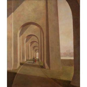 Harry Lane (American, b. 1891)    Along the FDR East River