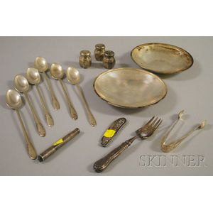 Group of Assorted Silver Items