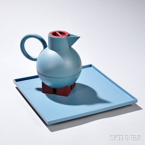 Michael Graves (1939-2015) Thermal Server and Tray for Alessi