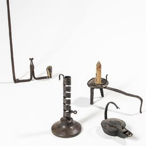 Four Early Lighting Items