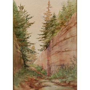 American School, 19th Century  The Mountain Pass