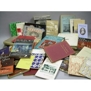 Collection of Approximately Thirty-nine Antiques Related Books and Pamphlets