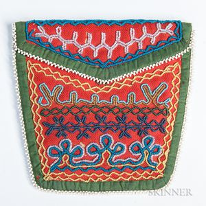 Northeast Beaded Cloth Bag