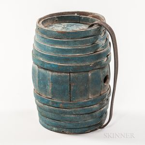 Blue-painted Canteen