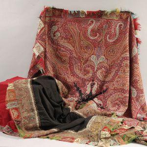 Three Kashmir Shawls