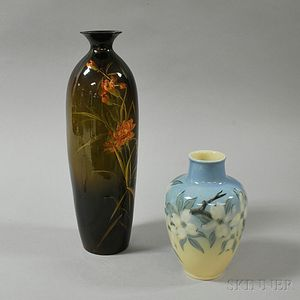 Two American Art Pottery Vases