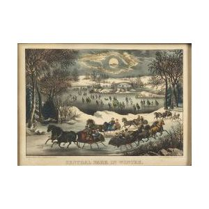 Currier & Ives, publishers (American, 1857-1907)  Central Park in Winter.