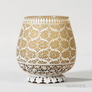 Thomas Webb & Sons Gem Cameo Vase