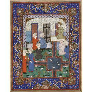 Miniature Folio Painting