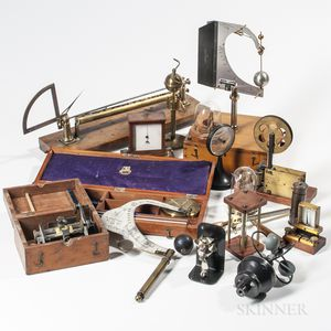 Collection of Scientific Instruments and Apparatus