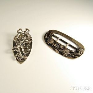 Two Shiebler Sterling Silver Accessories