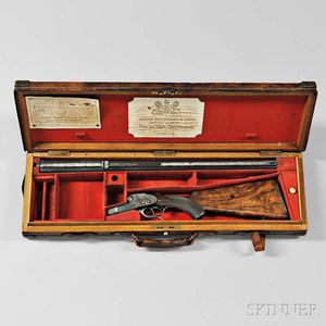 James Woodward Sidelock Double Rifle with Maker