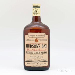 Hudsons Bay Special Best Procurable Blended Scotch Whisky, 1 4/5 quart bottle