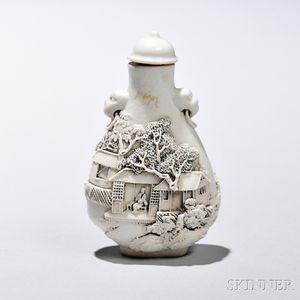 Encre-de-Chine Snuff Bottle