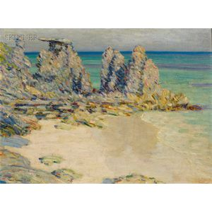 Will Howe Foote (American, 1874-1965)      Bermuda Coast