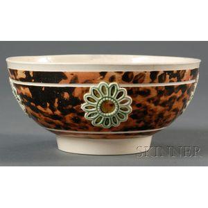 Mochaware Hemispherical Bowl