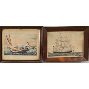 Three Nathaniel Currier and Currier & Ives Engravings