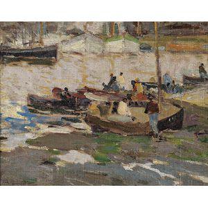 Harry Aiken Vincent (American, 1864-1931)      Concarneau