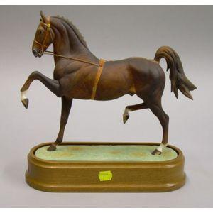 Royal Worcester Bone China Hackney Stallion