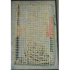 James Wilmot (American, 20th Century)      Lobster Trap