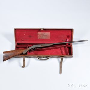 John Dickson & Son Rook Rifle with Maker