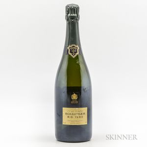 Bollinger Extra Brut R.D. 1990, 1 bottle
