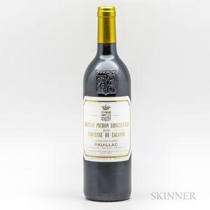 Chateau Pichon Lalande 2010, 1 bottle