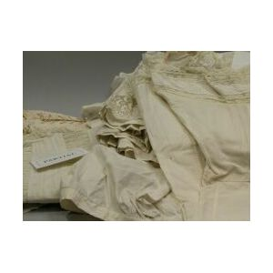 Large Group of Womens White Cotton Clothing and Undergarments.