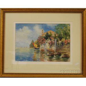 Emily Harris McGary Selinger (American, 1848-1927)      Venezia