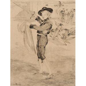 Édouard Manet (French, 1832-1883)      Victorine Meurand en costume d