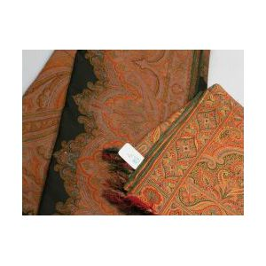 Two Woven Wool Paisley Shawls.