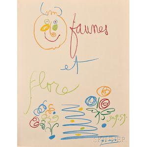After Pablo Picasso (Spanish, 1881-1973)      Faunes et Flore D