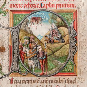 Illuminated Manuscript Leaves.