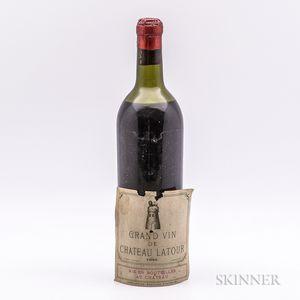 Chateau Latour 1944, 1 bottle