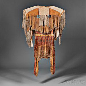 Rare and Important Plains Apache Woman