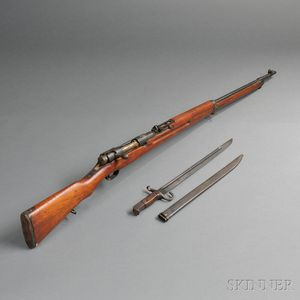 Japanese Arisaka Rifle and Bayonet