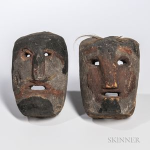 Two Tibetan Masks
