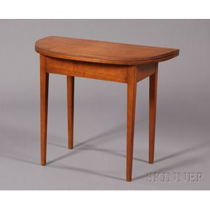 Federal Maple Card Table