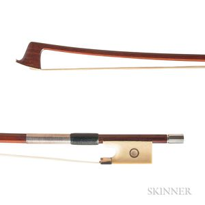 Silver-mounted Viola Bow, Finkel Workshop
