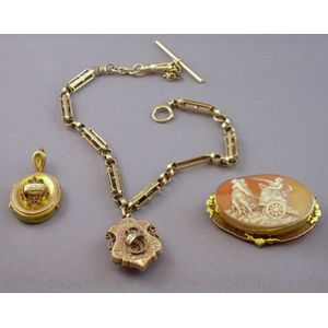 Group of 14kt Gold Victorian Jewelry