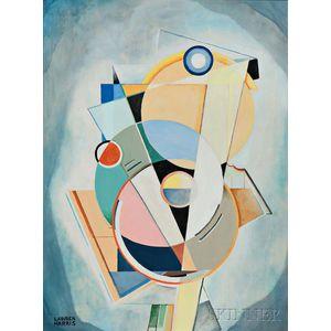 Lawren Stewart Harris (Canadian, 1885-1970)      Abstraction